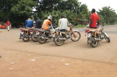 Article : Taxi-moto: les nouveaux acteurs du crime à Bouaké