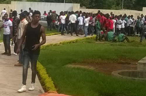Article : Retour au calme dans les universités ivoiriennes