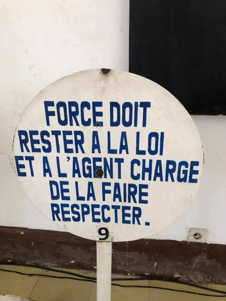 ivoire intellect- panneau d'instruction de la police nationale