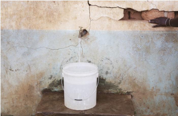 Tanzanie- Point de distribution d'eau