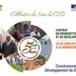 Le Contrat de désendettement et de développement (C2D) a cinq ans