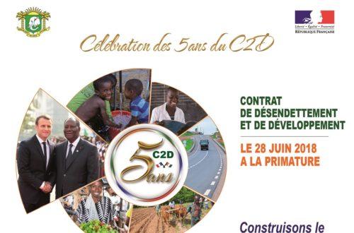 Article : Le Contrat de désendettement et de développement (C2D) a cinq ans